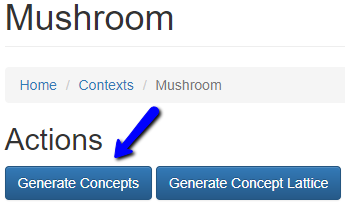 generate concepts button